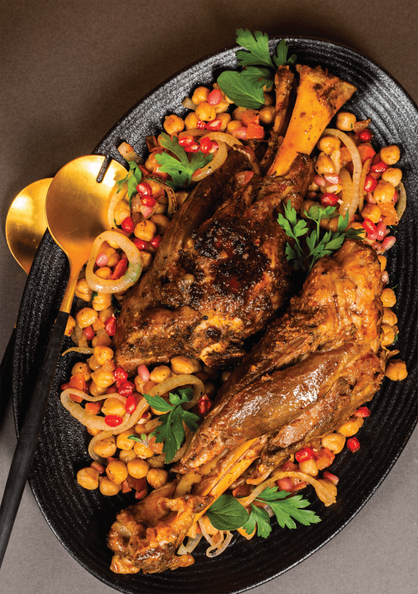Sous Vide Moroccan Shanks by Sousvidelicious